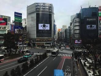 17 Live(イチナナ)の渋谷の広告